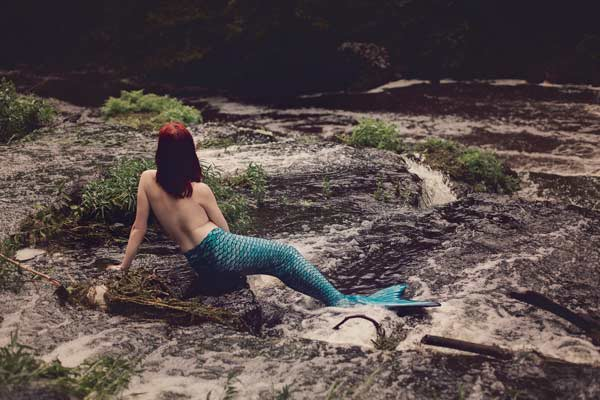 Topless Mermaid